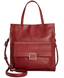 Christie Leather Tote