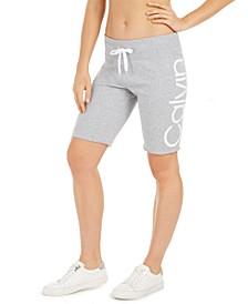 Logo Terry Bermuda Shorts