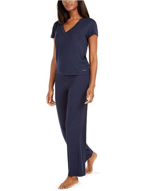 Calvin Klein Women's Stretch Modal Sleep Separates