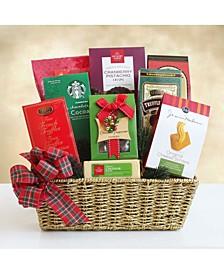 Festive Treats and Eats Gift Basket