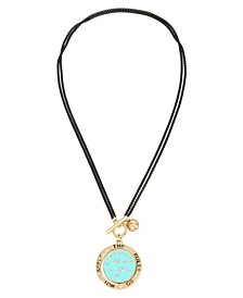 EMPOWERED Affirmation Flip Pendant Necklace