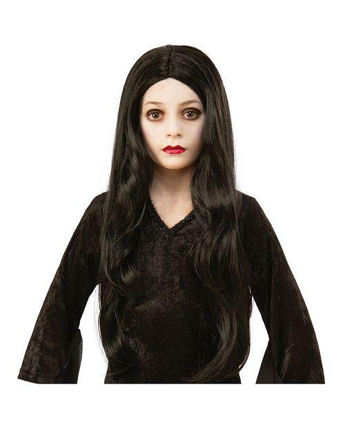 BuySeasons The Addams Family Kids Morticia Wig