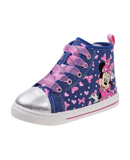 Josmo Disney Minnie Mouse Little Girls Canvas Shoes