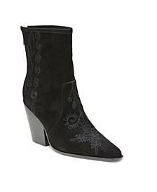 Western Chunky Heel Boots