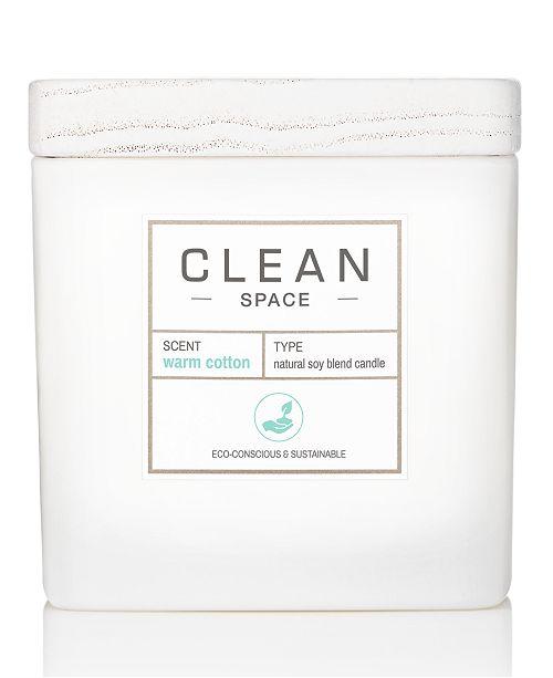 CLEAN Fragrance Warm Cotton Candle, 8-oz.