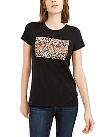 Cheetah Box Logo T-Shirt