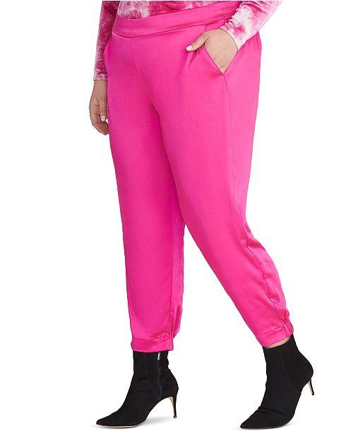 RACHEL Rachel Roy Trendy Plus Size Hailey Pants