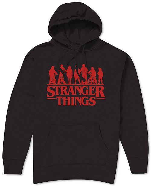 Hybrid Stranger Things Logo Men's Hoodie