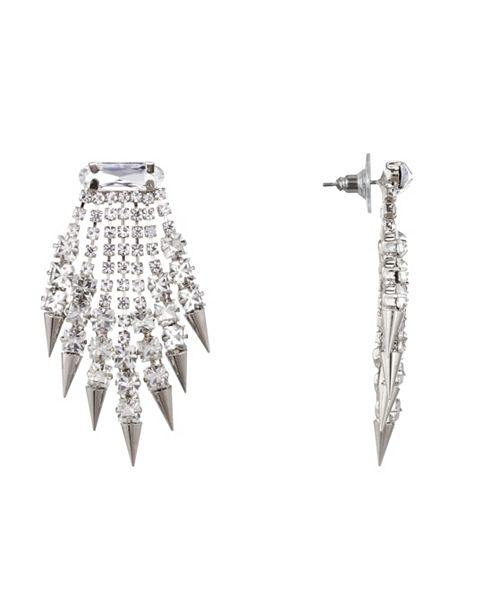 Nina Fringe Spike Earrings