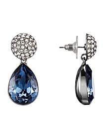 Pave Pear Earrings