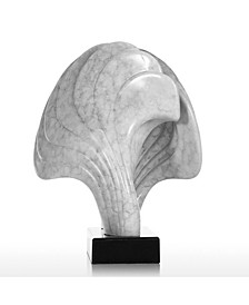 The Shell Limited Edition Abstract Figurine with Marble Base