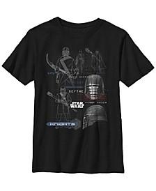 Big Boys First Order Knights Short Sleeve T-Shirt