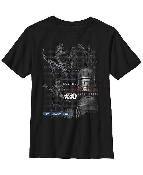 Star Wars Big Boys First Order Knights Short Sleeve T-Shirt