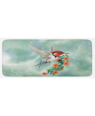Hummingbird Kitchen Mat