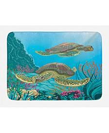 Sea Animals Bath Mat