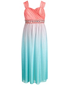 Big Girls Embellished Maxi Dress