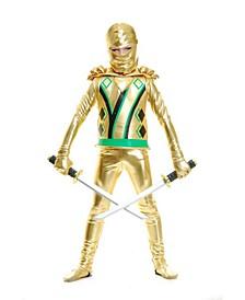 Big and Toddler Boys Ninja with Armor Costume