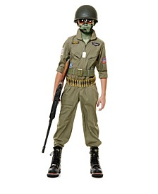 Big and Toddler Boys Fighter Pilot Costume