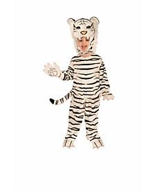 Big Boy's Plush Tiger Costume