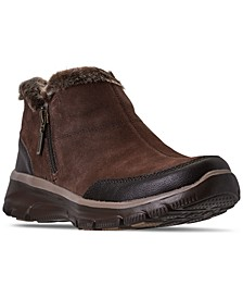 Women's Relaxed Fit Easy Going Zip It Boots from Finish Line