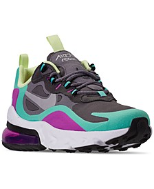 Girls Air Max 270 React Casual Sneakers from Finish Line