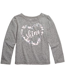 Little Girls Shine T-Shirt, Created For Macy's