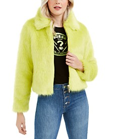 Acid Queen Faux-Fur Jacket