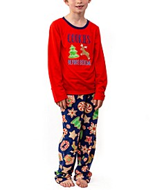 Matching Kid's Baking Team Pajama Set, Online Only