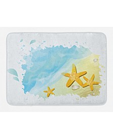Starfish Bath Mat