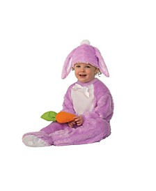 Baby Girls and Boys Lavender Bunny Deluxe Costume
