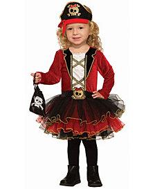 BuySeasons Baby Girls Deluxe Pirate Costume