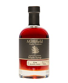 Gin Barrel Aged Organic Vermont Maple Syrup, 375 ml