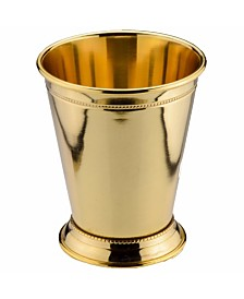 24K Gold Plate Mint Julep Cup