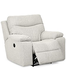 "Ronse 41"" Leather Wallhugger Power Recliner"