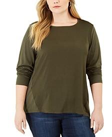 Plus Size Crewneck T-Shirt