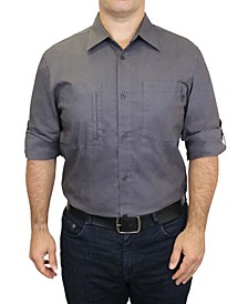 Men's Workwear Cotton Stretch Adventure Shirt