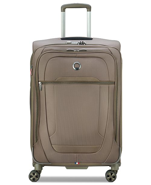 """Delsey Helium DLX 25"""" Softside Check-In Spinner, Created for Macy's"""