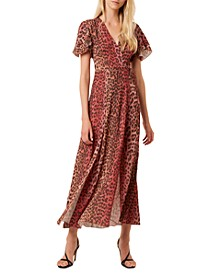 Annalia Crepe Wrap Dress