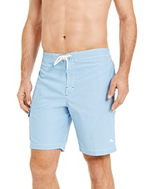 "Men's Sea Glass Baja Stretch UPF 30 9"" Board Shorts"