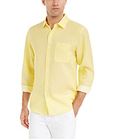 Men's Sea Glass Breezer Linen Shirt