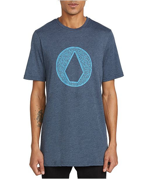 Volcom Men's Hollow Stone Logo T-Shirt