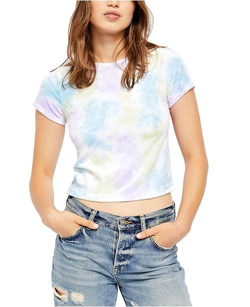 Free People Bright Eyes Velvet T-Shirt
