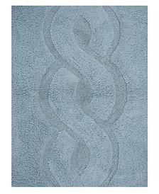 "Mingled 21"" x 34"" Bath Rug"