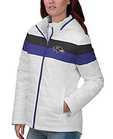 Women's Baltimore Ravens Tie Breaker Polyfill Jacket