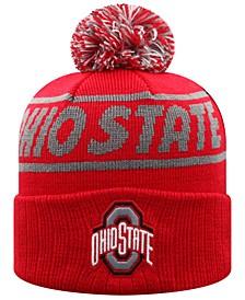 Big Girls Ohio State Buckeyes Ruth Knit Hat
