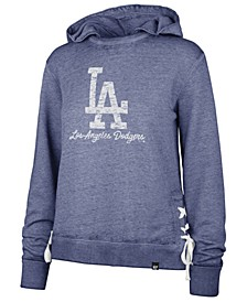 Women's Los Angeles Dodgers Sideline Lace Pullover