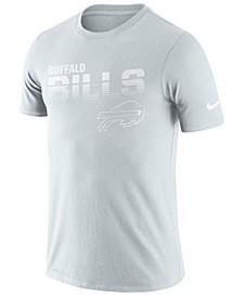 Men's Buffalo Bills 100th Anniversary Sideline Legend Line of Scrimmage T-Shirt