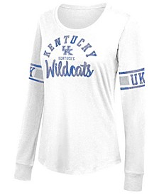 Women's Kentucky Wildcats Favorite Long Sleeve Foil T-Shirt