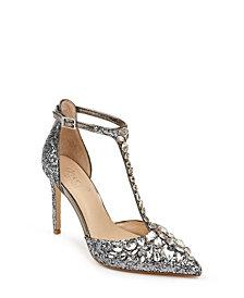 Jewel Badgley Mischka Umay Sandals
