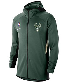 Men's Milwaukee Bucks Thermaflex Showtime Full-Zip Hoodie